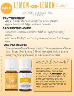 Lemon and Lemon Vitality