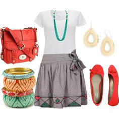 Young Teacher Swag :), created by alanad23 on Polyvore