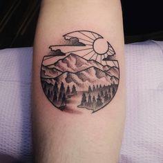 nice Top 100 mountain tattoo - http://4develop.com.ua/top-100-mountain-tattoo/ Check more at http://4develop.com.ua/top-100-mountain-tattoo/