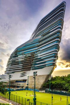 Hong Kong University Innovation Tower - Zaha Hadid Architects