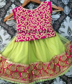 All Over Work Kids Blouse - Indian Dresses