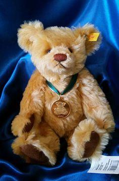 Danbury Mint Genuine Mohair Steiff Teddy Bear Of The Year 2002  # 666605 Germany #AllOccasion