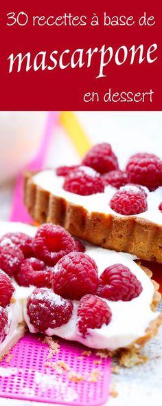 Que faire avec du mascarpone ? Nos meilleures recettes de desserts gourmands