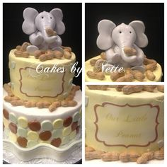 """""""My Little Peanut"""" Baby Shower Cake, Cakes By Nette"""
