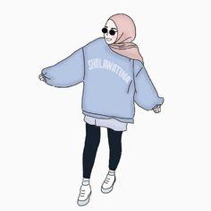 60 Best Ideas for illustration art sketches colour Fashion Sketches, Art Sketches, Moslem, Hijab Drawing, Modele Hijab, Islamic Cartoon, Anime Muslim, Hijab Cartoon, Tumblr Art