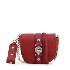 Versace Jeans E1VSBBF5 70711 331 Red Crossbody Bags 5eed17d50bcb1