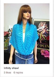 Infinity shawl crochet