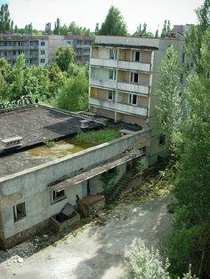 Pripyat, near Chernobyl, Ukraine (2007)