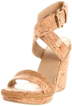 Stuart Weitzman Women`s Wraptor Wedge Sandal $281.25 (save $93.75) + Free Shipping