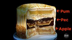 A PumPecApple, that's what! | Behold The Mesmerizing 3-In-1 Pie Cake Our World Needs Right Now