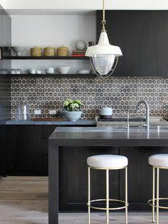 キッチン Manhattan Beach House アイランド1 かもめ食堂 インテリア インテリア実例