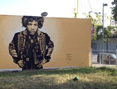Hendrix by Levi Ponce in North Hollywood (LP)