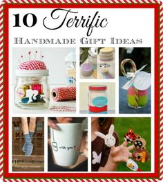 A Homemade Christmas - Gifts You Can Make #1
