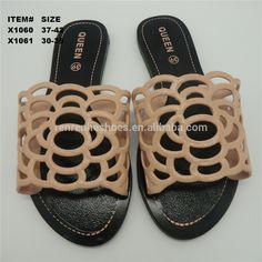 c8f478f947b 2017 cheap fashion pvc ladies fancy slippers women african sandals