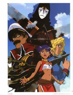 Yoshiyuki Sadamoto, Nadia: The Secret of Blue Water, Nadia La Arwall, Electra