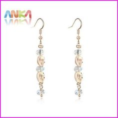 Pendientes Brinco Brincos Crystals from SWAROVSKI Crystal Earrings For Wholesale Gift Fashion Brand 2016 #101322