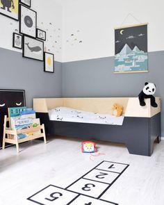 Little Dreamers dipdye bed. Verkrijgbaar bij SuzyB in diverse maten