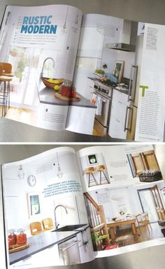 Style at Home magazine, March 2014 March 2014, House And Home Magazine, Modern Rustic, Palette, House Styles, Pallet