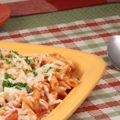 Zucchini Ziti Recipe - Skinny Ms. & ZipList