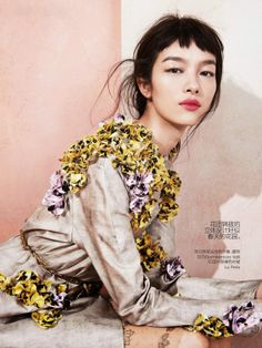 gorgeous edgy, luxe, feminine, textural... by-sharif-hamza-for-vogue-china-may-2014