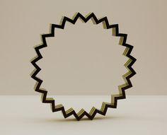 Brick Bending - 24 point LEGO star