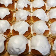 Handmade Iced Buns