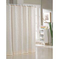 Found it at Wayfair - Blarwood Jacquard Shower Curtain