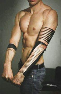 Tribal sleeve tattoo Love this!