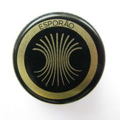 "I love this Portuguese ""Esporão"" olive oil bottle cap. Nice design, beautiful."