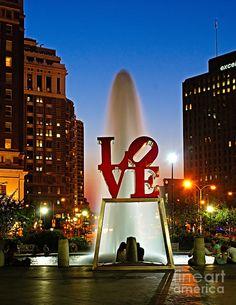 Third Stop - Love Park, Philidelphia PA #crazypinlove #helzbergdiamonds