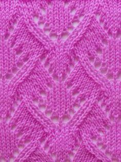 Lace Knit Stitch Pattern                                                                                                                                                                                 Mais