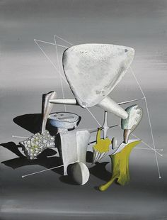 Yves Tanguy - 1943 - American Composition