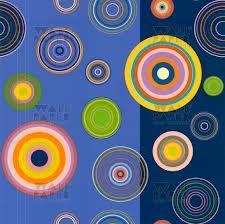 geel en blauw behangpapier - Google zoeken