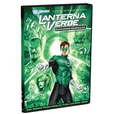 DVD Lanterna Verde: Cavaleiros Esmeralda #GreenLantern #LojaDCComics #bandUPStore