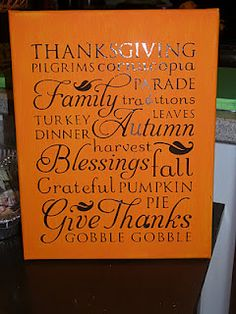 This is the Thanksgiving image from the Cricut Word Collage cartridge, but you could do the same thing with any of the images.