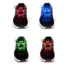 I found this amazing 4-Pack LED Shoelaces at nomorerack.com for 75% off.