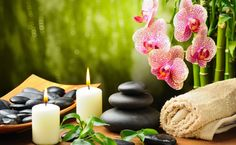 Spa decor HD Wallpaper