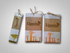 Identificador + Packaging de Chocolate Alpanina on Behance