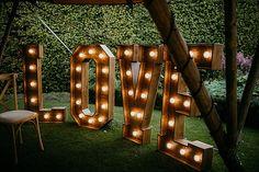Tipi Wedding Inspiration, Light Up Letters, Boho Wedding, Glamour, Outdoor Structures, Style, Swag, Illuminated Letters, Bohemian Weddings