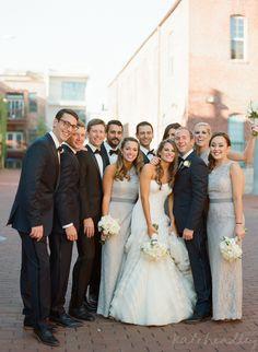 Lisa and Ryan in Washingtonian Bride and Groom - Kate Headley | wedding & editorial photographer