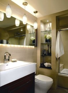 small master bathroom ideas | ... for her efficient planning and remodel of a small master bathroom