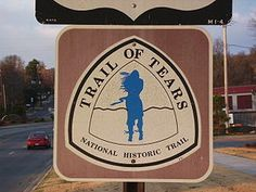 Trail of Tears - Wikipedia, the free encyclopedia Sign for the Trail of Tears National Historic Trail.