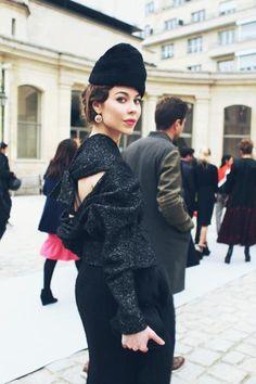 × Ulyana Sergeenko—love the back details
