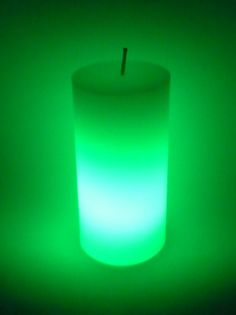Wonderful real wax candles that light up! Okay, you're probably thinking that ALL candles light up, but these candles are something special! These candles actually light up FROM THE INSIDE! - And then change colours, you have to see it to believe it!