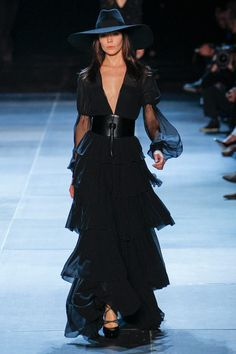 Trend: #Tiered - Yves Saint Laurent Spring/Summer 2013 Ready to Wear #YSL