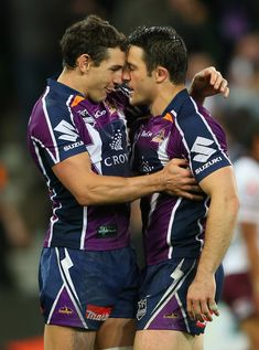 Sports Discover Rugby boys being cute :) Cooper Cronk and Billy Slater Hot Rugby Players Soccer Guys Rugby Men Men Kissing Cute Gay Couples Athletic Men Sport Man Man In Love Gorgeous Men Rugby Sport, Rugby Men, Sport Man, Hot Rugby Players, Soccer Guys, Men Kissing, Cute Gay Couples, Hommes Sexy, Men In Uniform