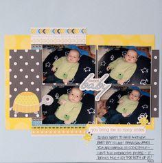 Creative Memories Products | Creative Memories BABY BLOG HOP! || Scrapbook Layout - scrappy wife ...