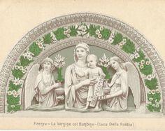 Firenze, La Vergine col Bambino - Luca Della Robbia - Italy,
