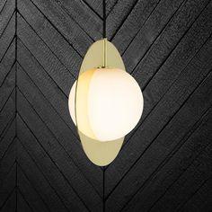 Tom Dixon - Plane Round Suspension Lamp