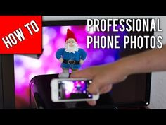 Take professional photos with your phone in 3 easy steps!